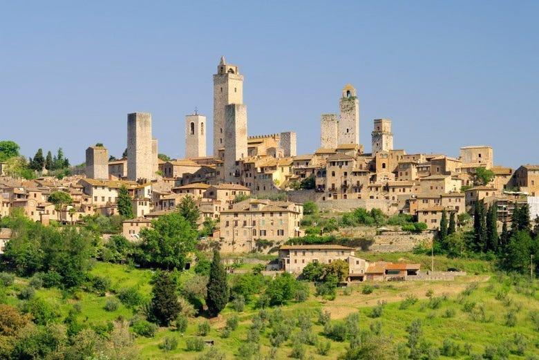 Excursión a Pisa, San Gimignano y Siena