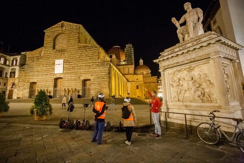 Tour nocturno en segway por Florencia