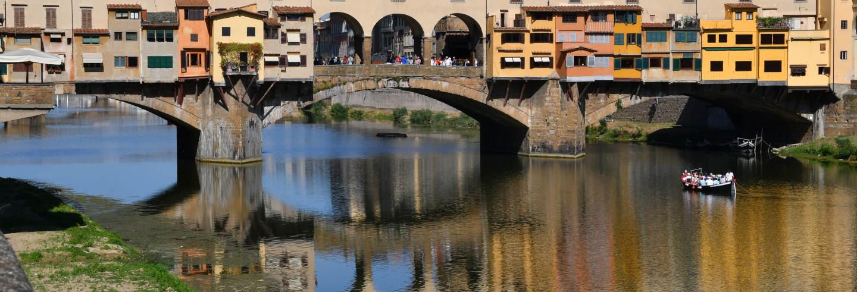Passeio de barco pelo rio Arno