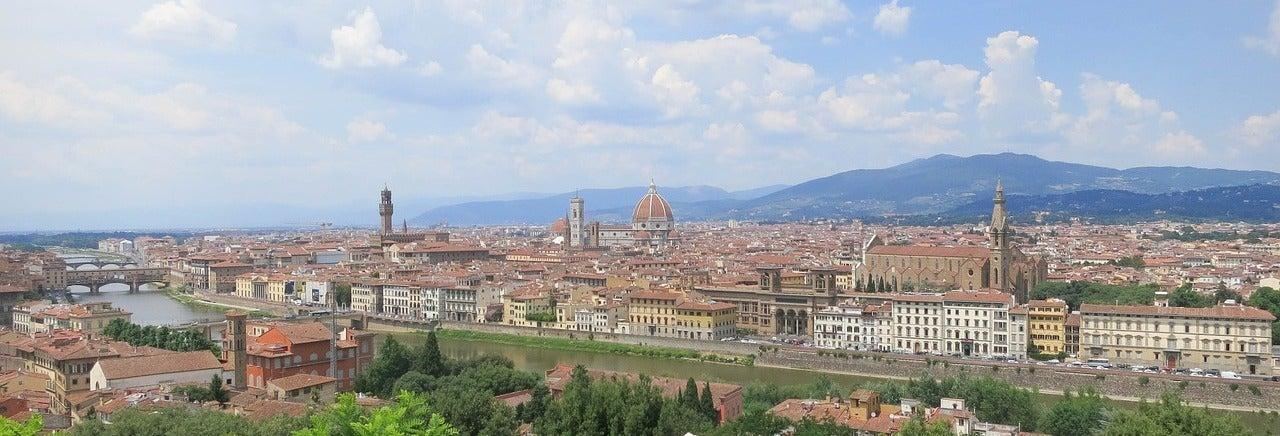 Tour di Firenze e Piazza Michelangelo in bici elettrica