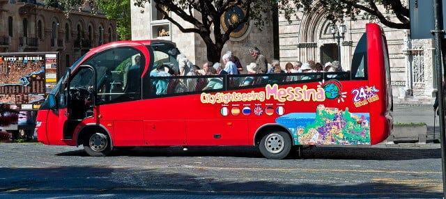 Autobus turistico di Messina