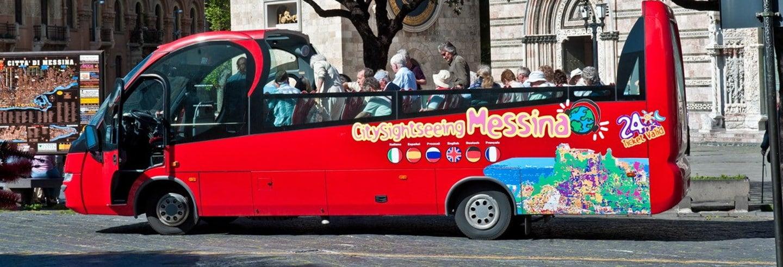 Ônibus turístico de Messina