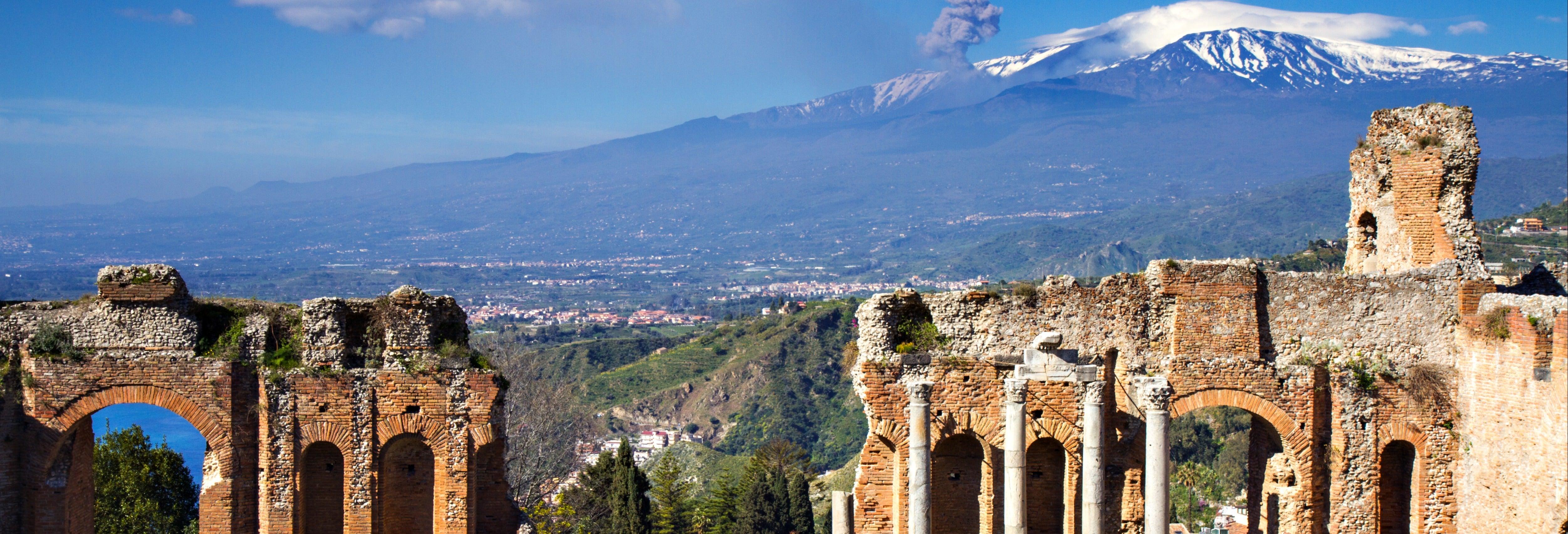 Excursion sur l'Etna et à Taormine