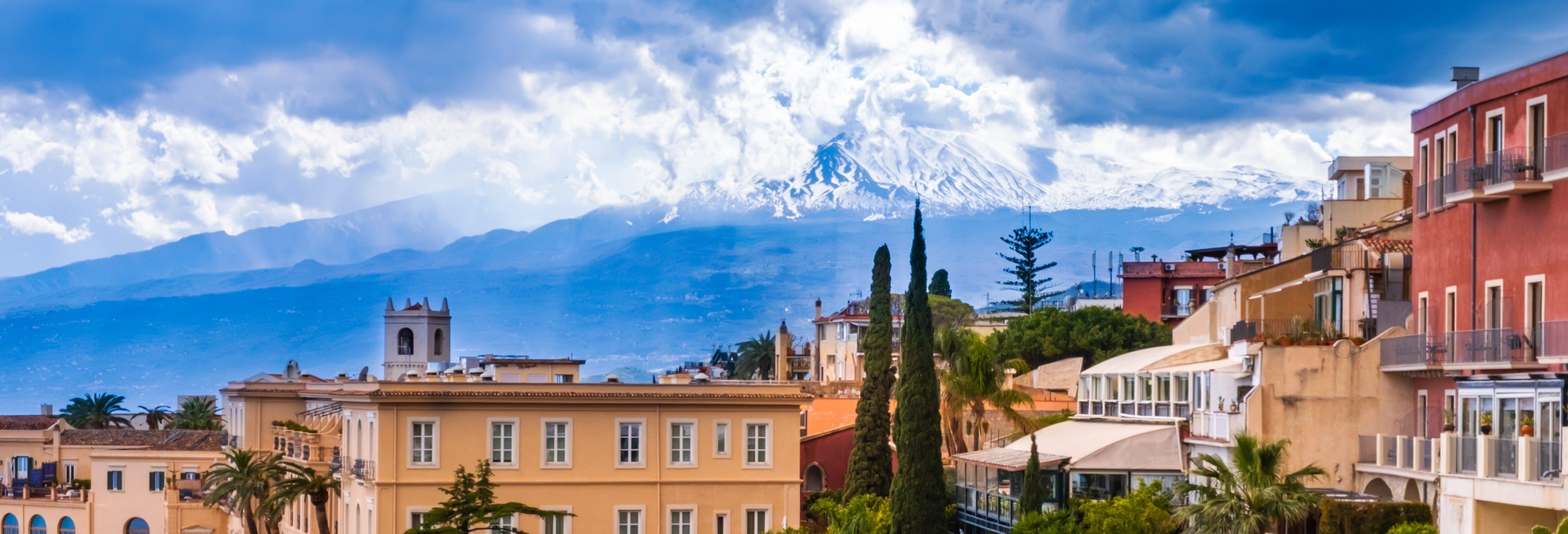Excursão a Savoca e Taormina