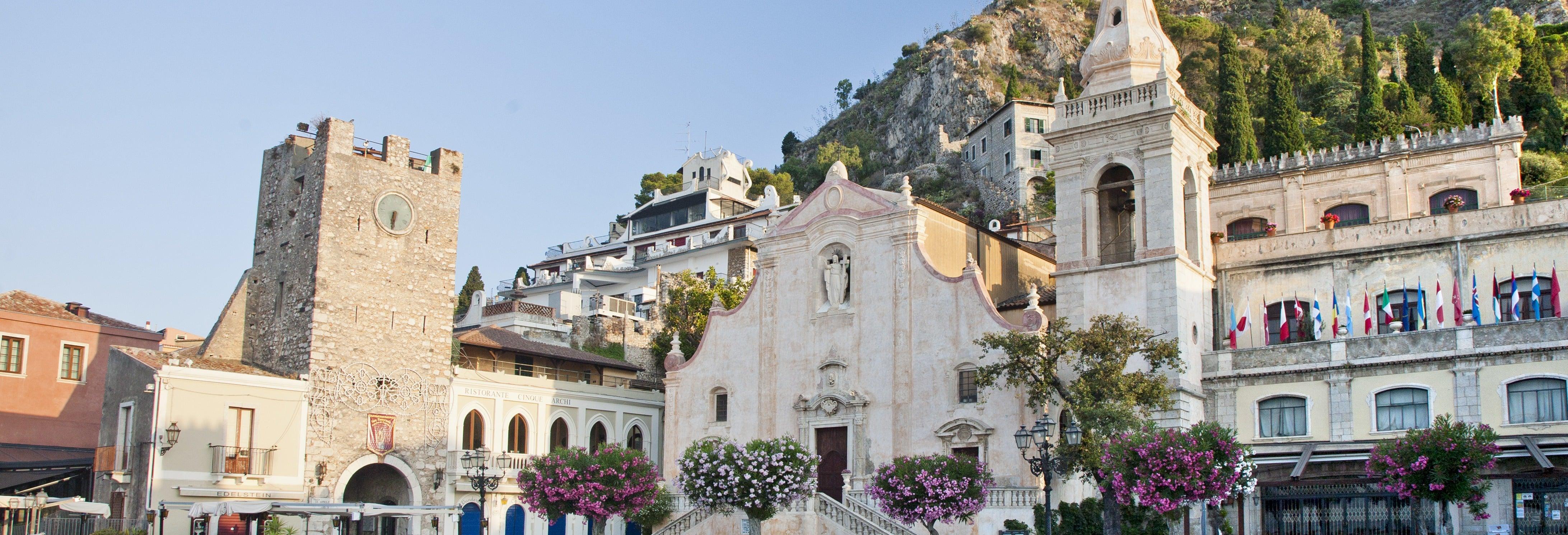 Taormina Day Trip + Winery Tour