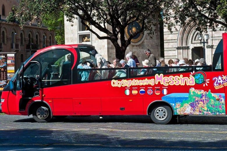 Autobús turístico de Messina