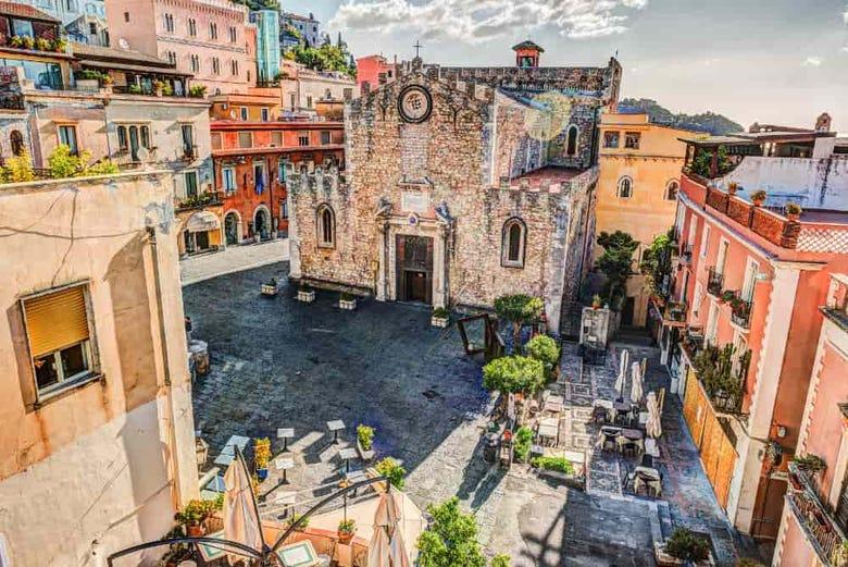 Excursión a Taormina y Castelmola
