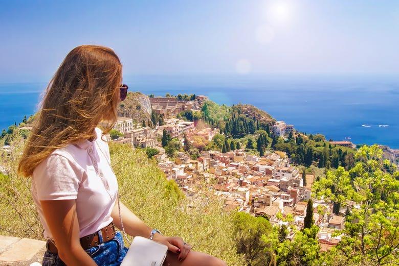 ,Excursión a Taormina