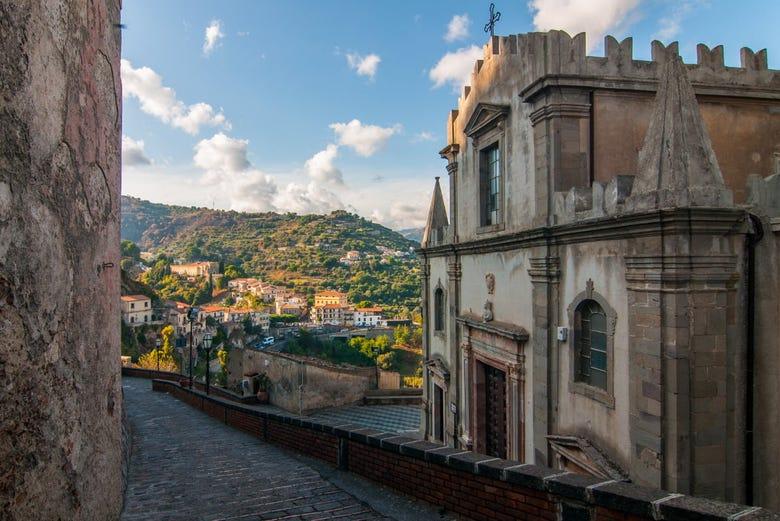 ,Excursión a Taormina,Excursión a Savoca