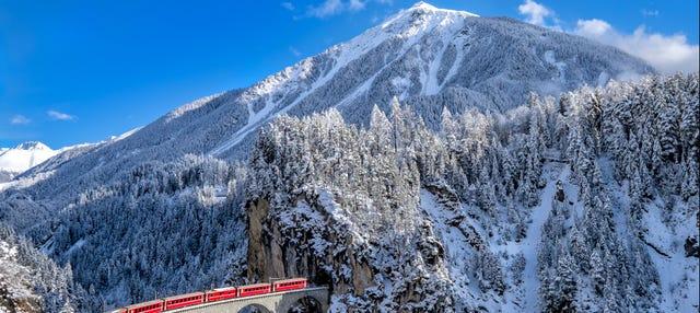 Alpes Suizos en el Bernina Express