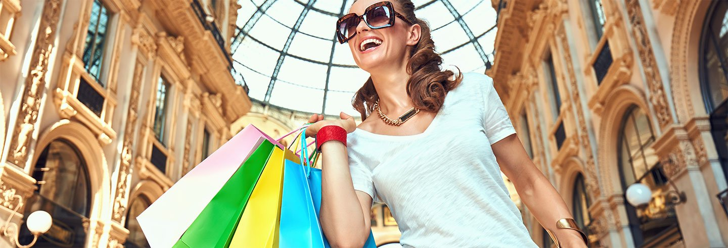 Excursion shopping dans les outlets de Serravalle