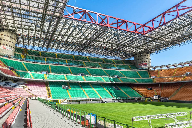 Tour de fútbol por el estadio San Siro y el museo Casa Milan, Milán