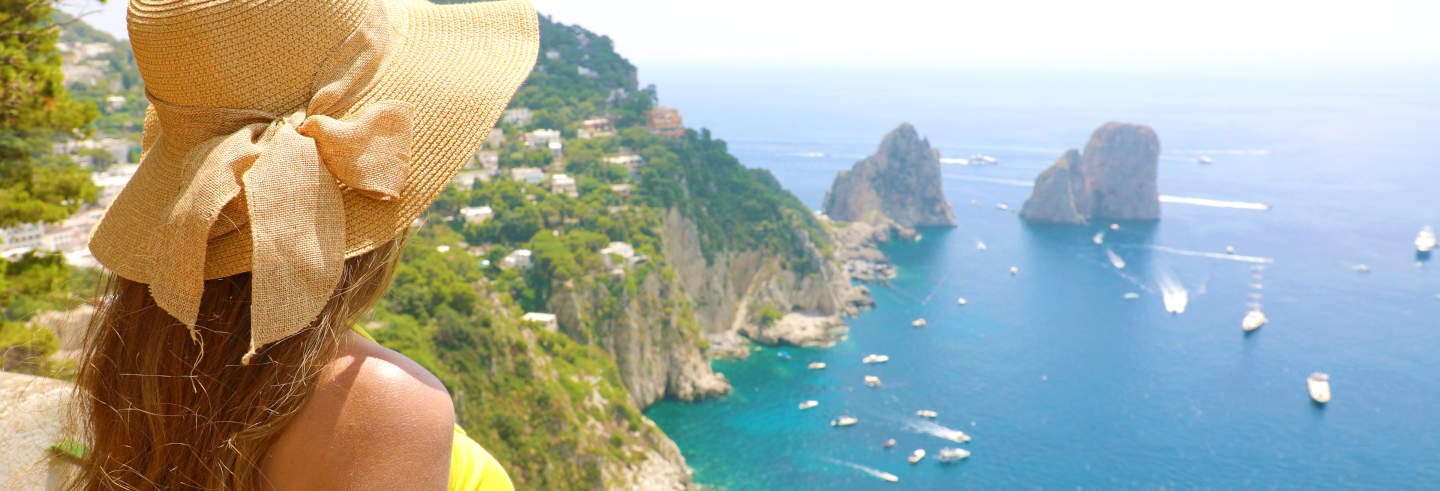Excursion à Capri et Pompéi