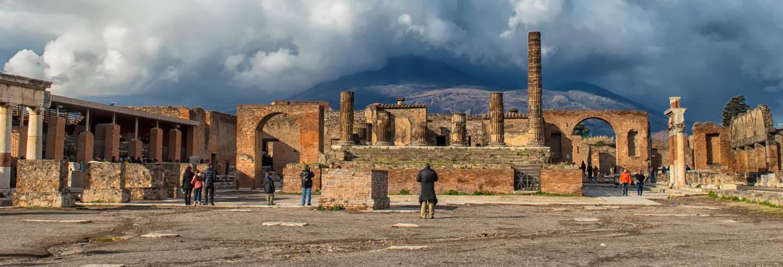 Escursione a Pompei con pranzo tradizionale dell'antica Roma