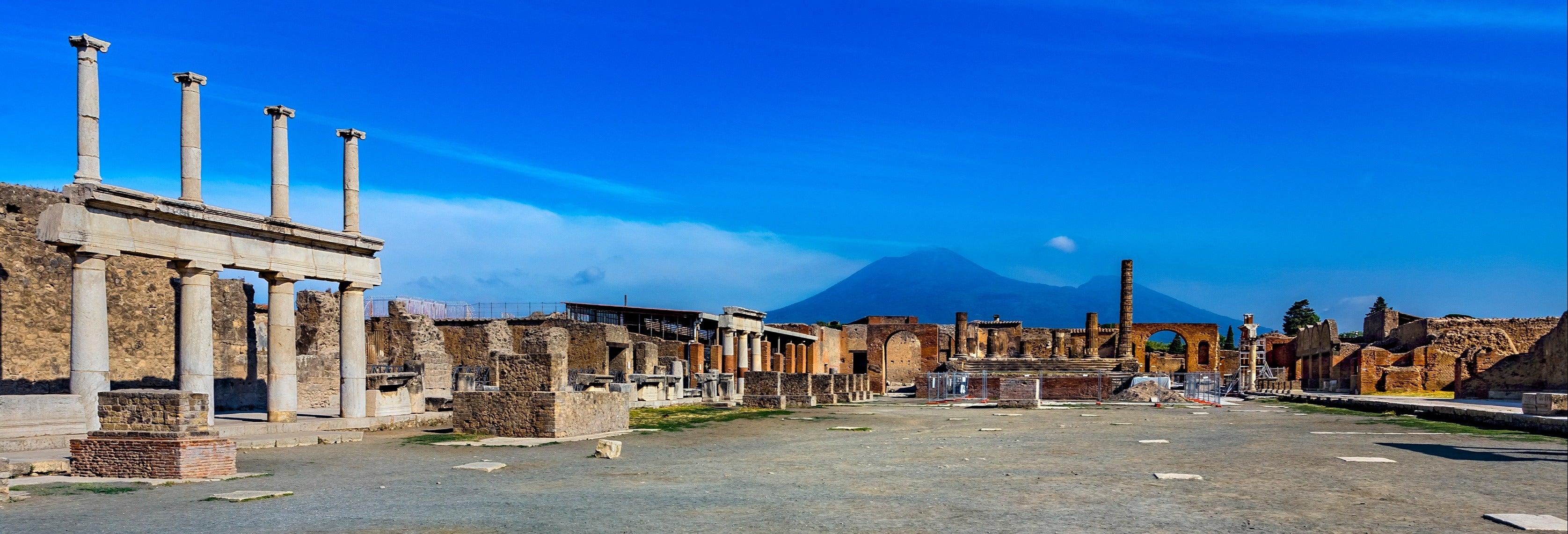 Escursione a Pompei, a Ercolano e al Vesuvio