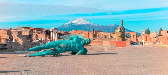 Oferta: Excursión a Pompeya + Vesubio