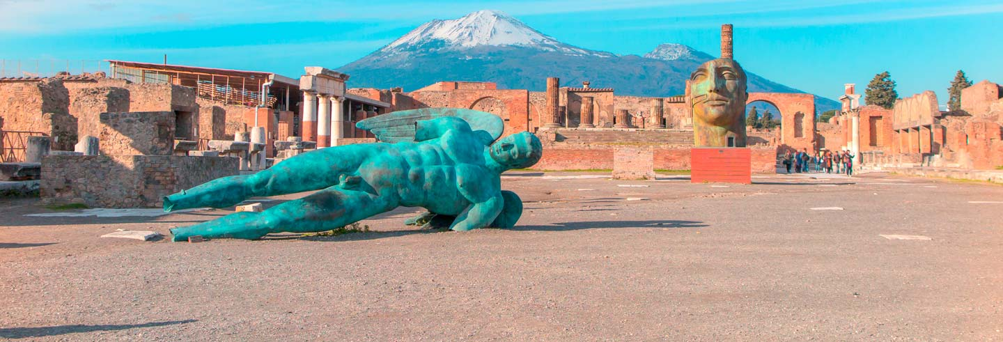 Pompeii and Vesuvius Day Trip