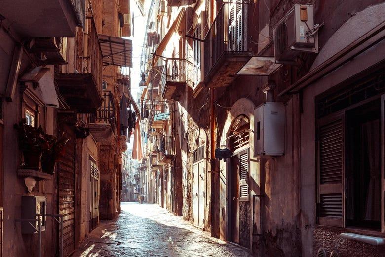 Visita guiada por Nápoles + Mercado gastronómico