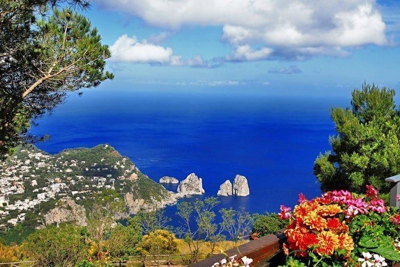Excursión a Capri y Anacapri