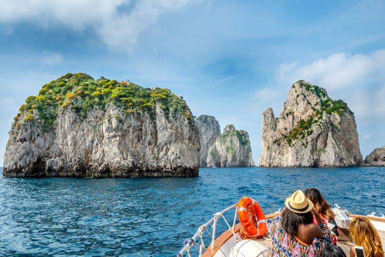 Excursión a Capri en barco