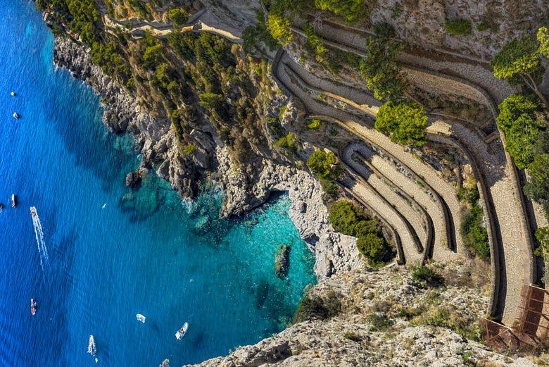 Excursión a Capri y Pompeya