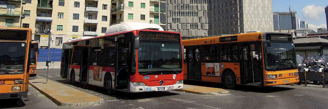 Buses in Naples