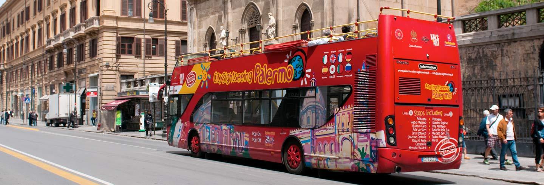 Autobus turistico di Palermo