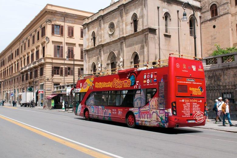 Autobús turístico de Palermo