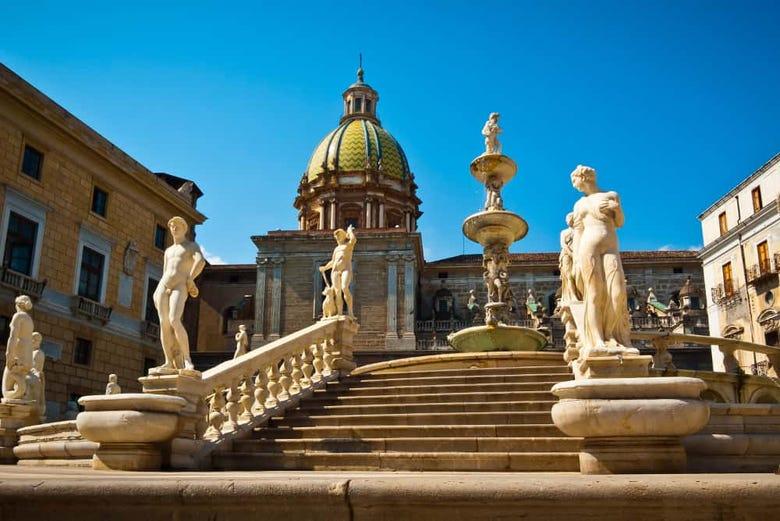 Visita guiada por Palermo
