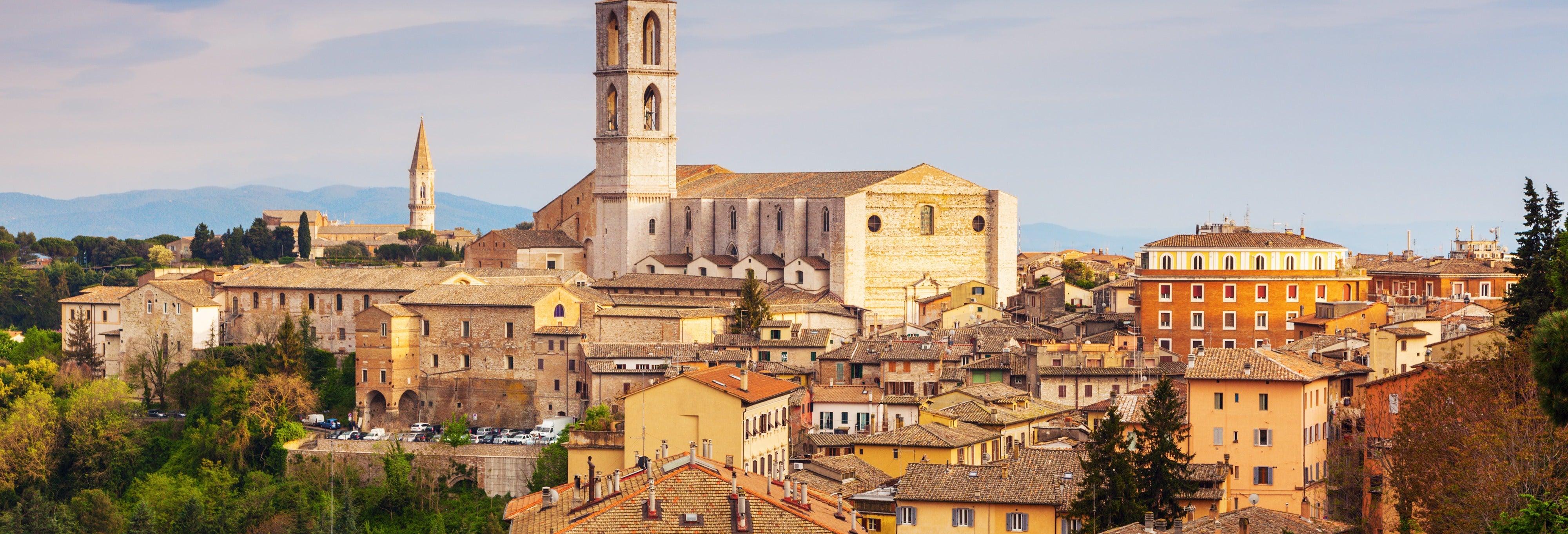 Tour privado por Perugia con guía en español