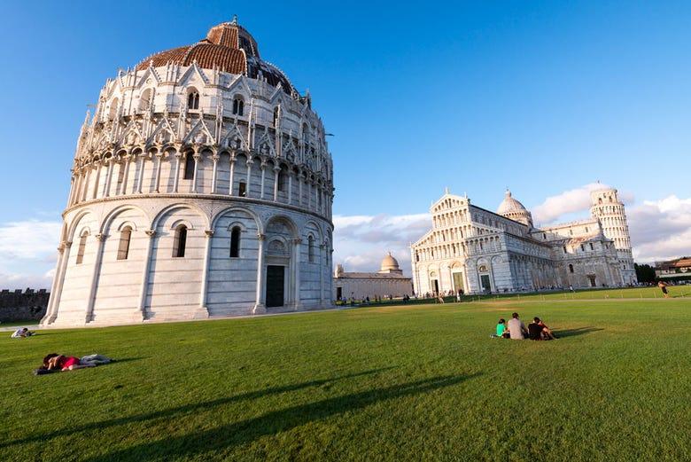 Visita guiada por Pisa