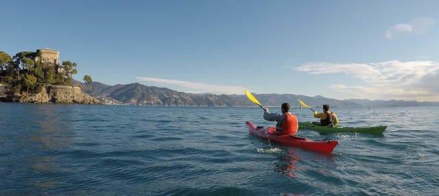 Tour en kayak por Portofino