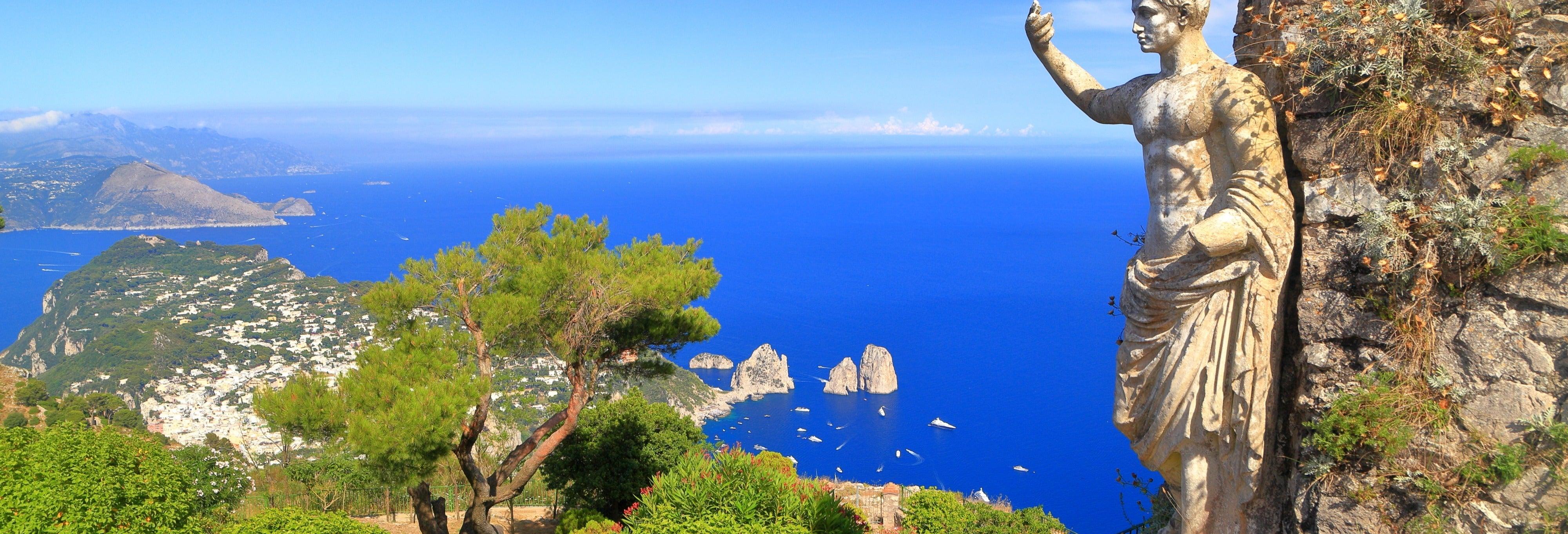 Excursión a Capri y Sorrento