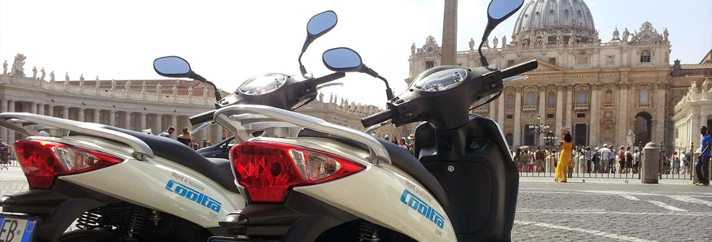 Location de scooter à Rome