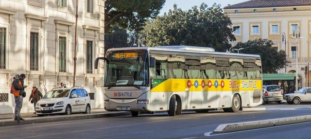Rome Ciampino Airport Shuttle Bus
