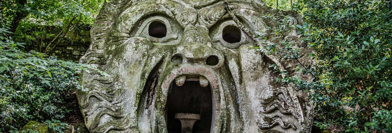 Excursion à Viterbe et aux jardins de Bomarzo