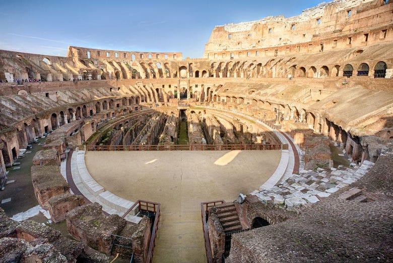Coliseo Foro Y Palatino Arena De Gladiadores Roma