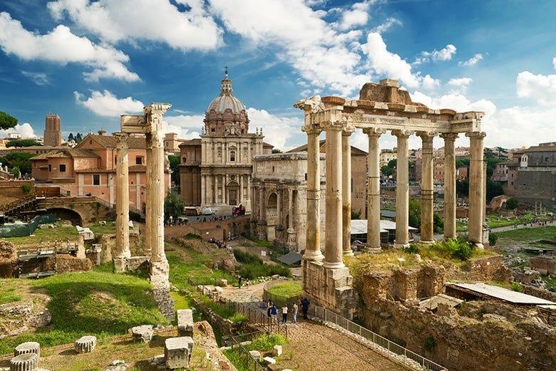 ,Vaticano,Vatican,Coliseo,Colosseum,Foro Romano,Forum,Palatino,Palatine,Visita guiada