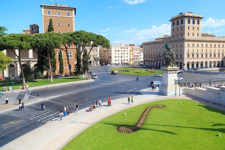 Alquiler de motos en Roma