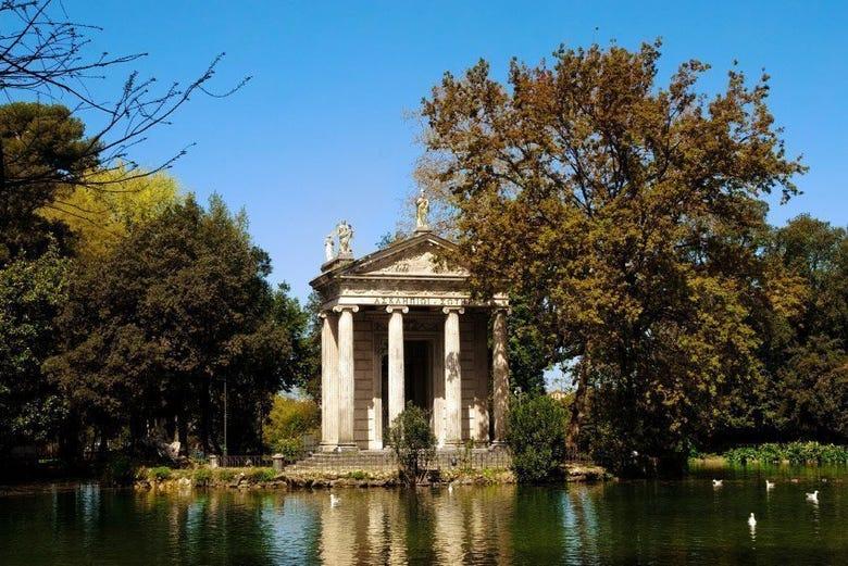 Visite De La Villa Borghese Rome