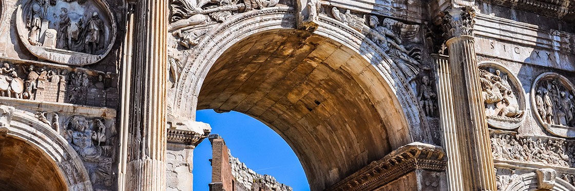 Arch of Constantine - Triumphal arch in Rome