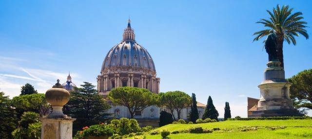 Jardines Vaticanos, Capilla Sixtina y Basílica de San Pedro