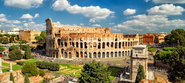 Coliseo, Foro y Palatino + Arena de gladiadores