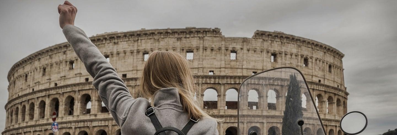 Tour en moto por Roma