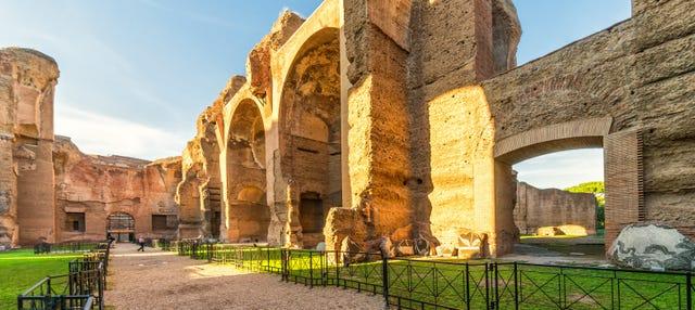 Visita guidata delle Terme di Caracalla e del Circo Massimo