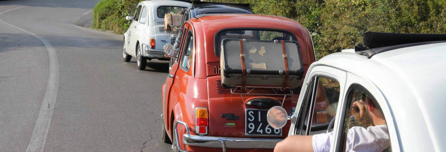 Tour del Chianti in Fiat 500