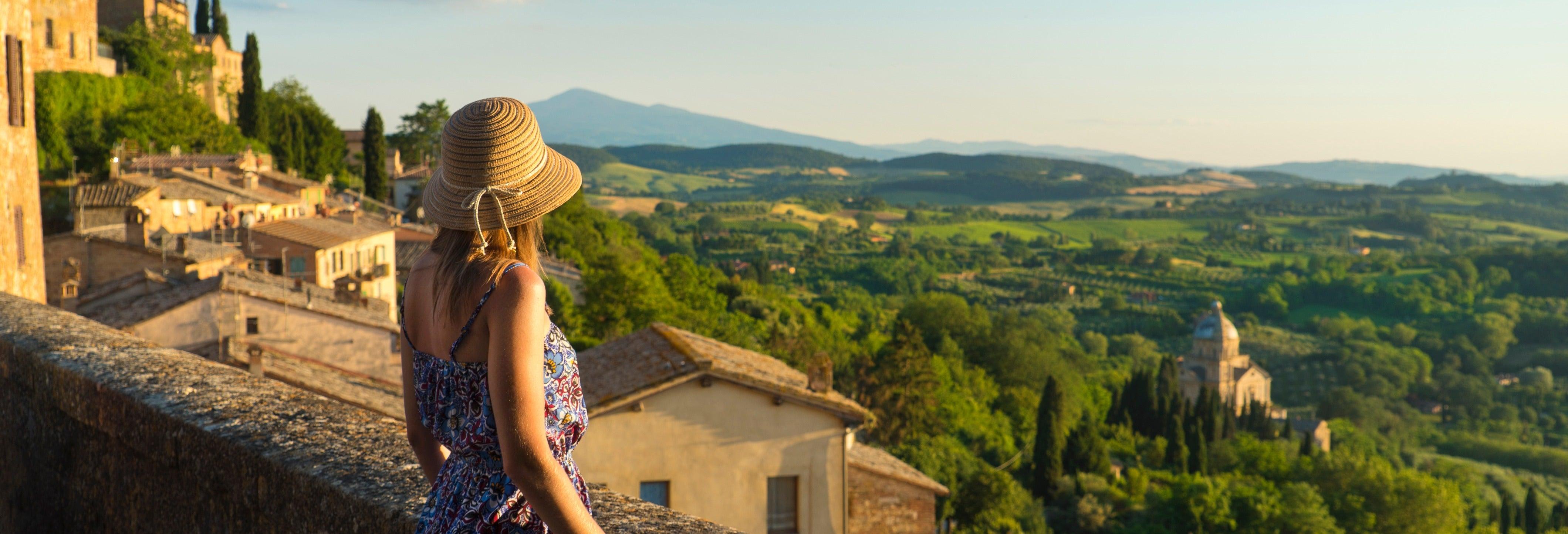 Escursione a Montalcino, Pienza e Montepulciano