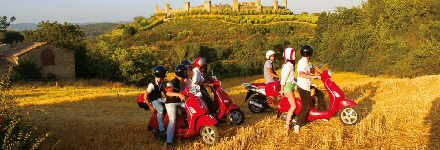 Tour del Chianti in vespa
