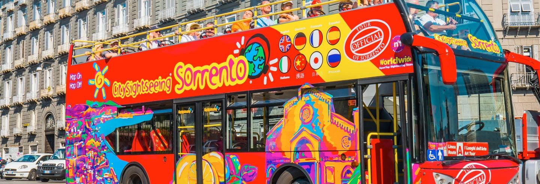 Bus touristique de Sorrente et ses environs