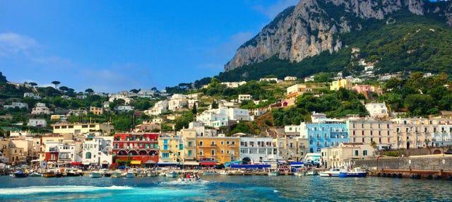 Excursión a la isla de Capri en barco